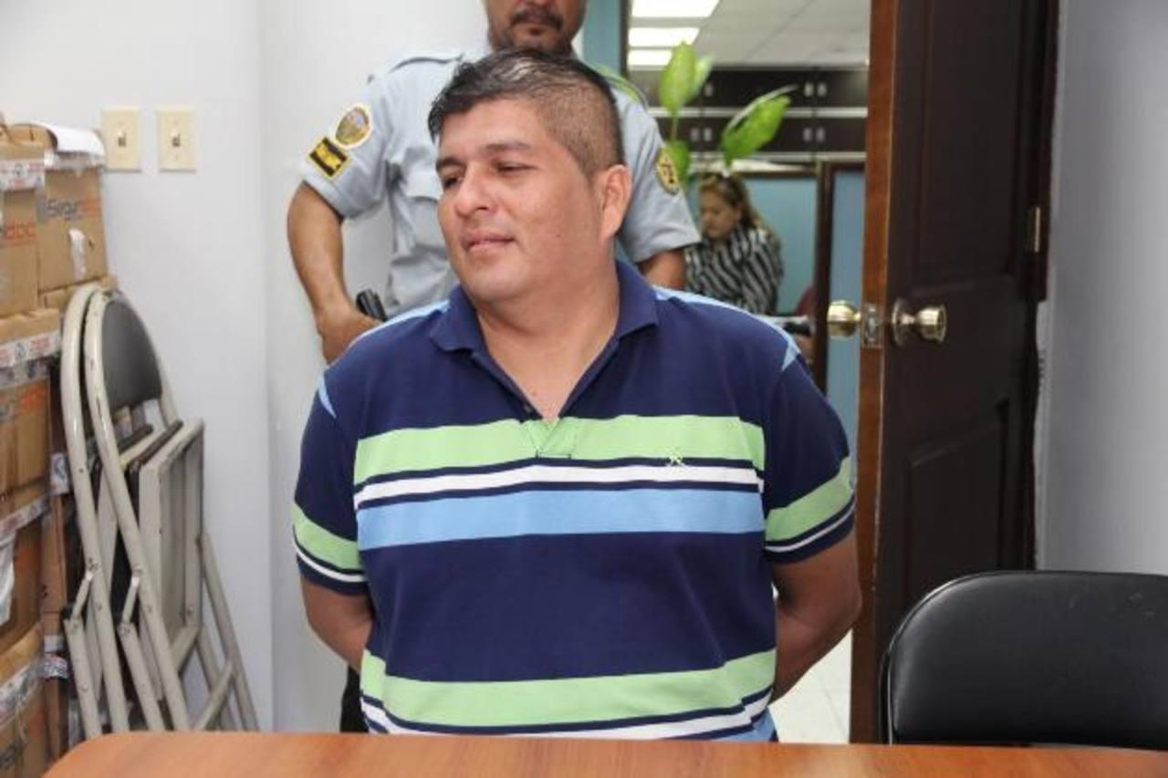 El busero de la Ruta 92, Ricardo Morales, será enjuiciado por matar a una señora de 57 años. Foto EDH / Cortesía Juzgados