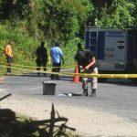 Los cadáveres de las dos mujeres no fueron identificados. Las víctimas no portaban documentos. Foto EDH / Éricka Chávez