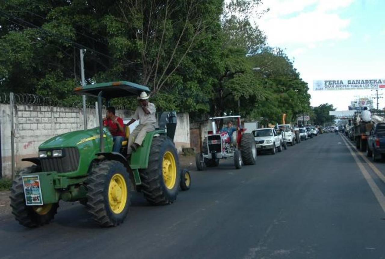 La Asociación de Ganaderos de El Salvador, filial San Miguel, lamentó que este año no hayan sido tomados en cuenta para las fiestas patronales de la Perla de Oriente. Foto/ Archivo