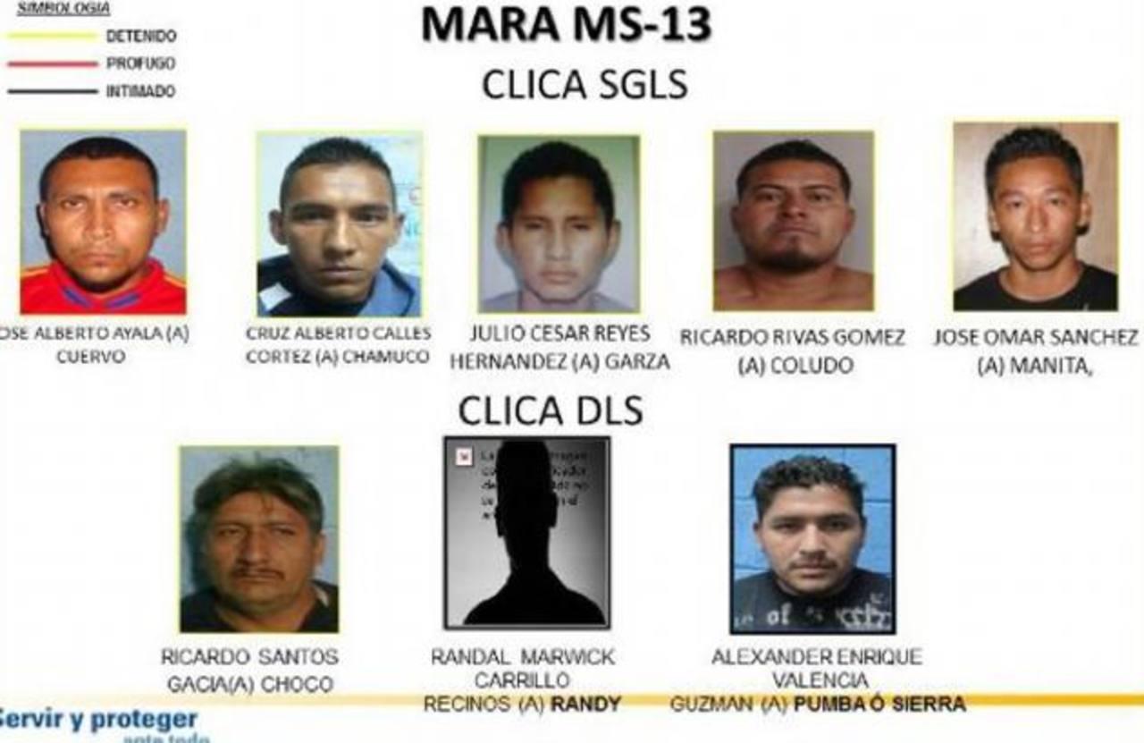 Capturan a cinco sujetos involucrados en un doble homicidio registrado en Santiago Texacuangos. Foto EDH / @carabi007