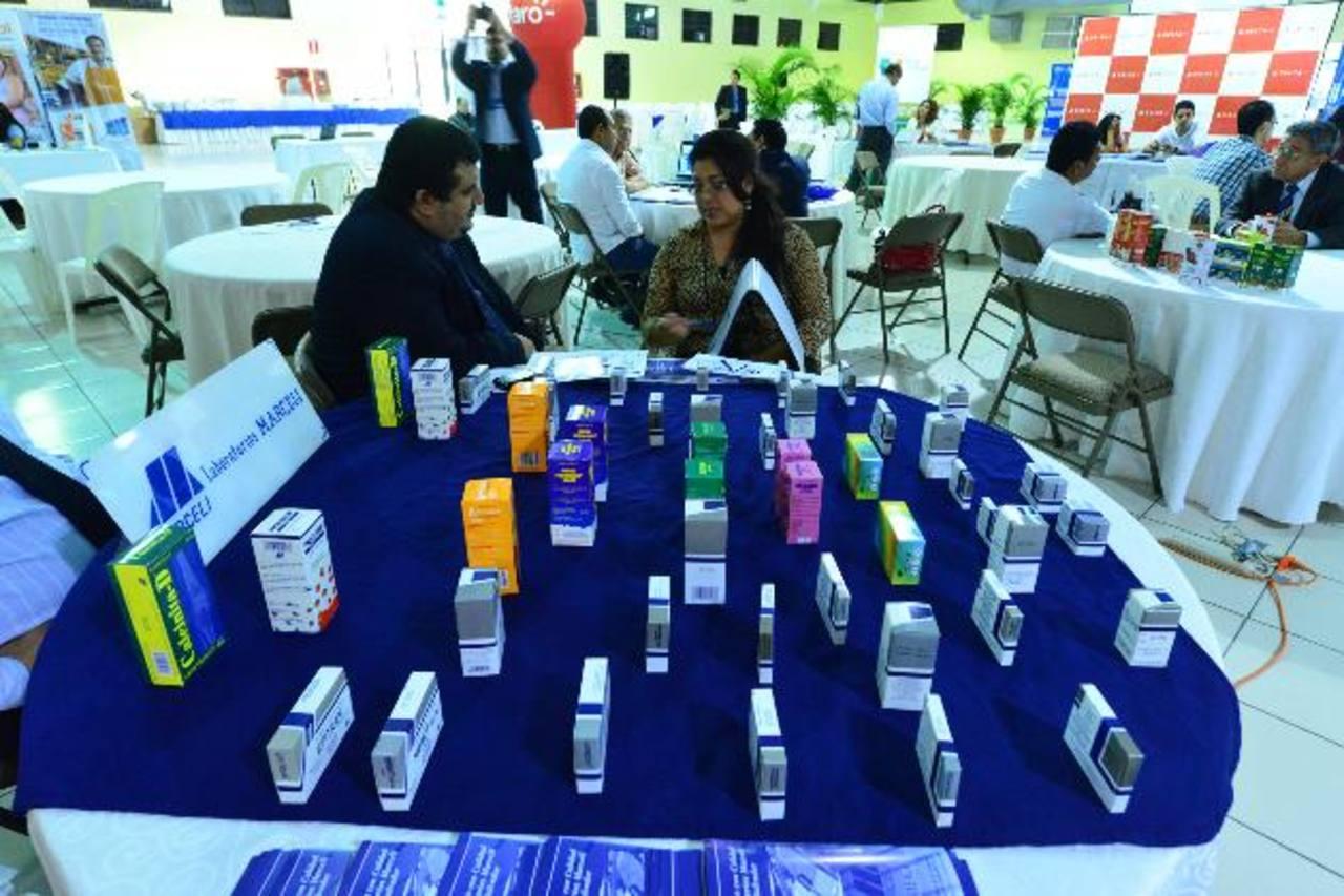 En el evento se exhibieron algunos productos y servicios.