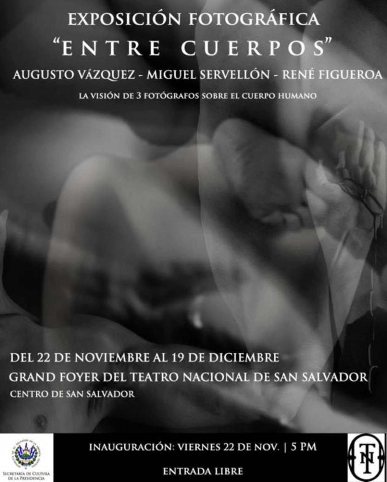 Luces, sombras, cuerpos expuestos, en blanco y negro, integran la exposición que estará abierta hasta el 19 de diciembre.