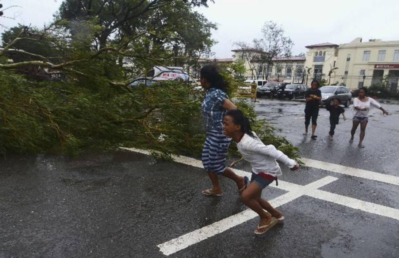 El tifón más potente del año azota Filipinas