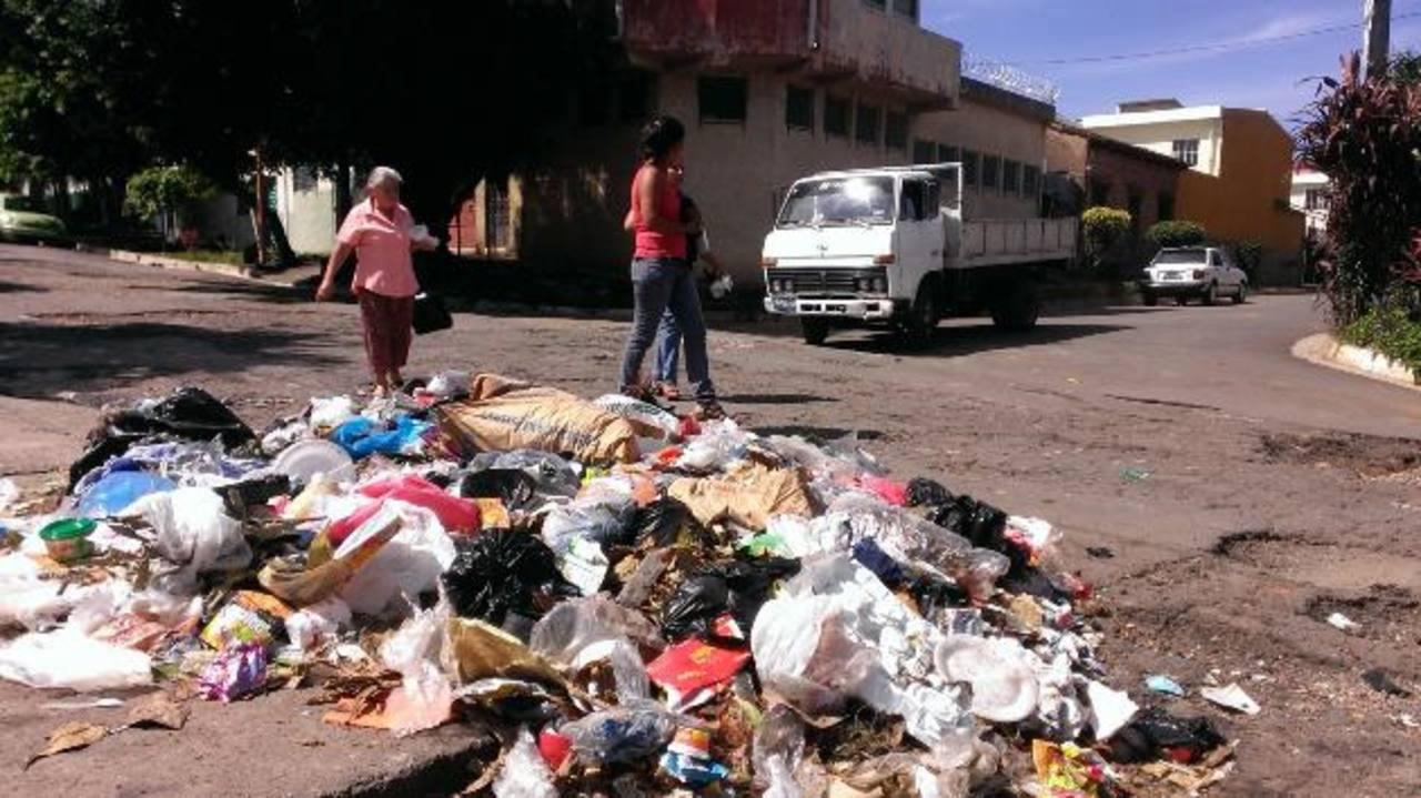 Temen epidemias por basureros en Santa Ana