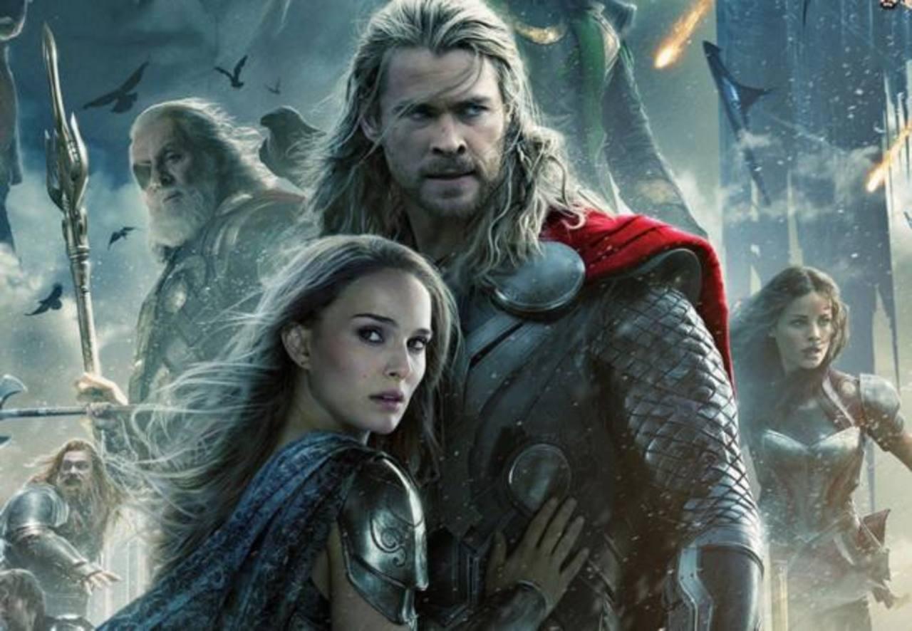 """La secuela """"Thor: The Dark World"""" se impuso en la taquilla de Estados Unidos y Canadá por segunda semana. Foto/ Archivo"""