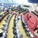 La plenaria en la Asamblea Legislativa. FOTO EDH Archivo.