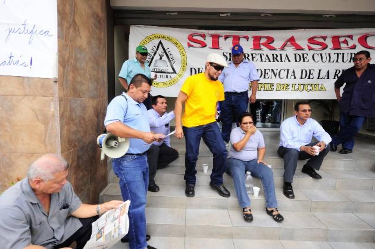 La crisis que se vivió en la Secultura llegó a los medios internacionales de Centroamérica y México. Foto EDH / Archivo