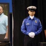 El agente salvadoreño Gerardo Hernández fue recordado en una emotiva ceremonia en Los Angeles Memorial Sports Arena. Foto/ AP