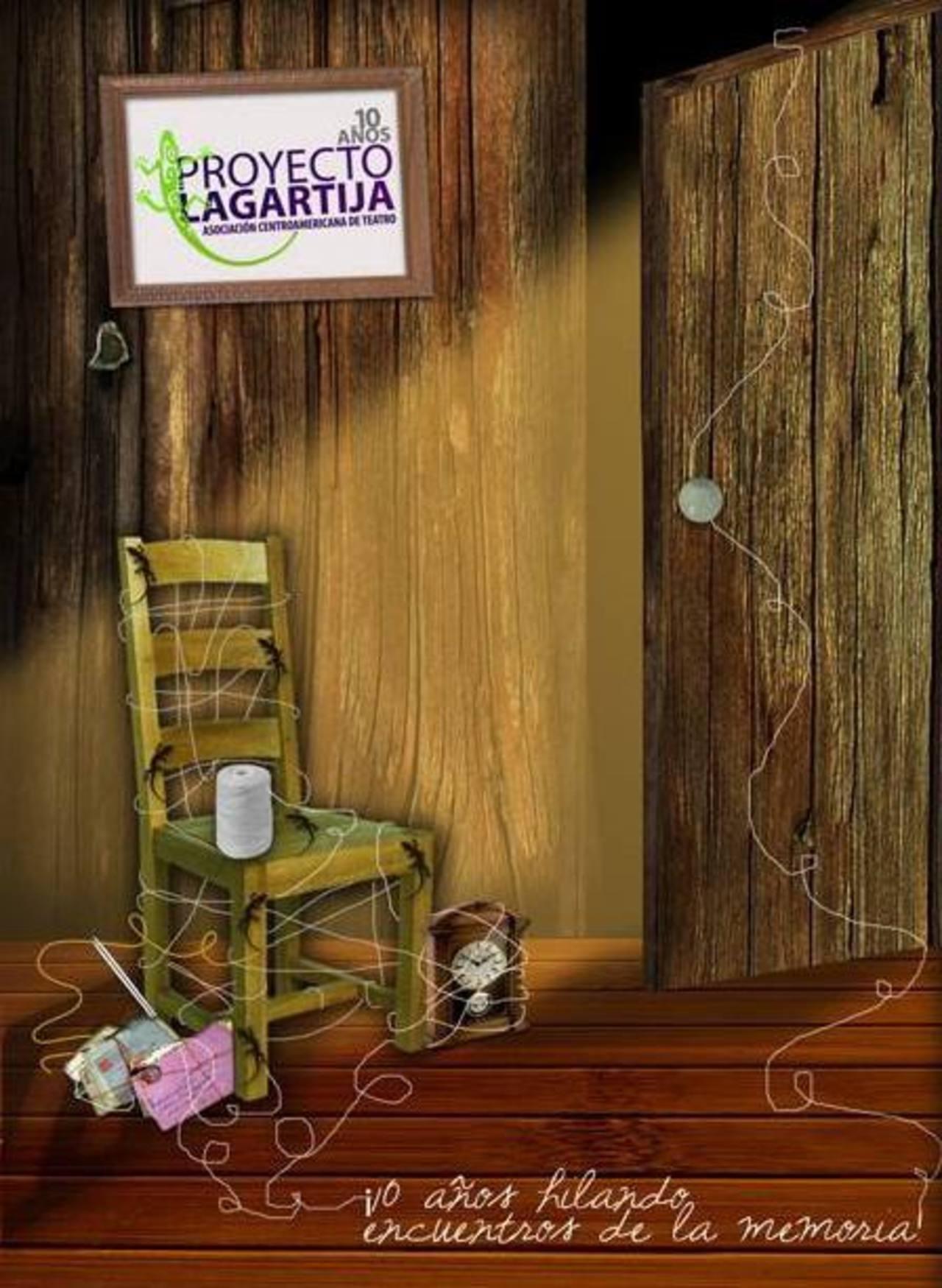 Proyecto Lagartija nació con el objetivo de fortalecer el teatro Centroamericano brindando capacitaciones y foros.