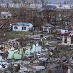Zona afectada en Filipinas