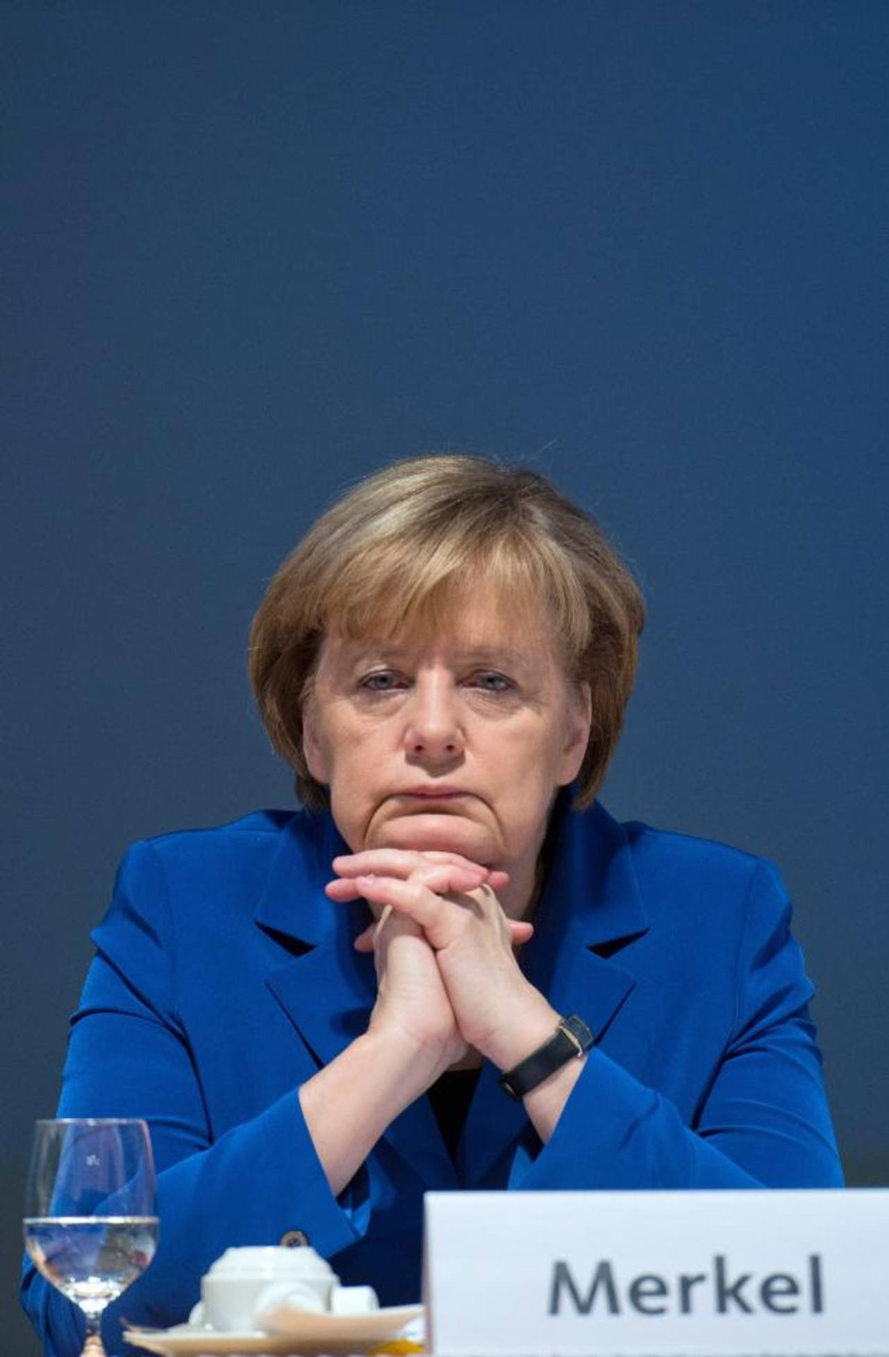 La canciller alemana, Angela Merkel. foto edh / EFE