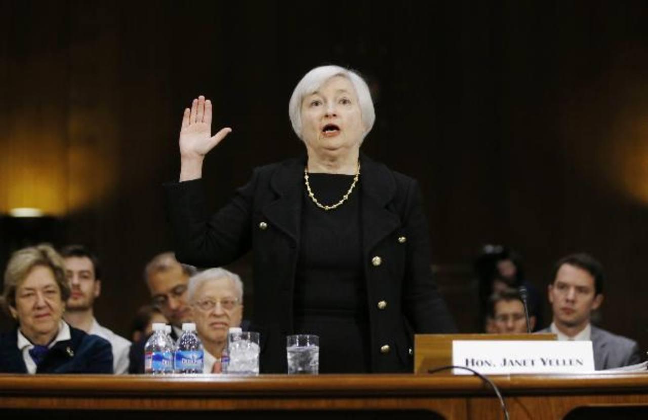 El mundo financiero internacional estima que Janet Yellen será confirmada al frente de la FED. foto edh / reuters