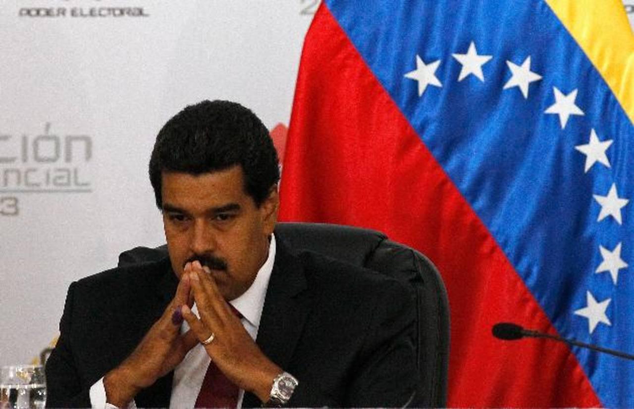 El presidente Maduro está preocupado por la pérdida de seguidores y dijo que ya oficializó el reclamo a la empresa, pero en la red social no emitieron comentario. foto edh / Internet