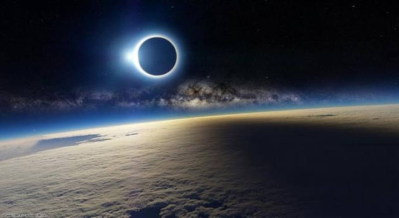 Mañana habrá eclipse solar, será transmitido por Internet