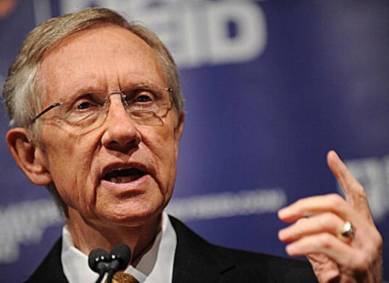 Harry Reid, miembro del Partido Demócrata.