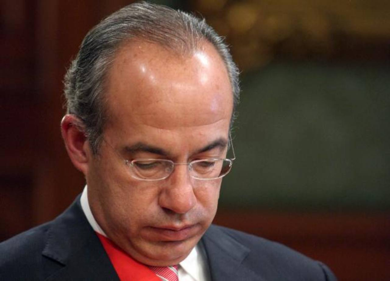 Felipe Calderón Hinojosa fue presidente de México del 1 de diciembre de 2006 al 30 de noviembre de 2012. foto edh