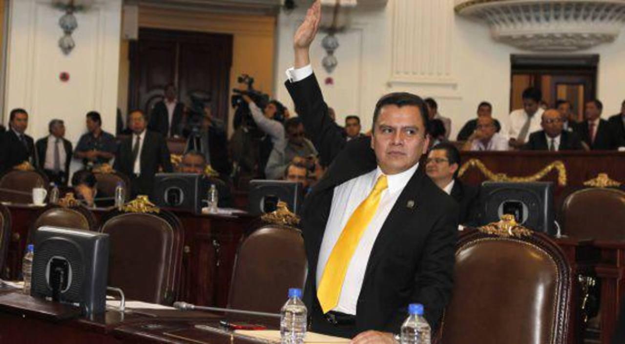Manuel Granados, coordinador del PRD y quien descubrió el fraude. Foto EDH /internet