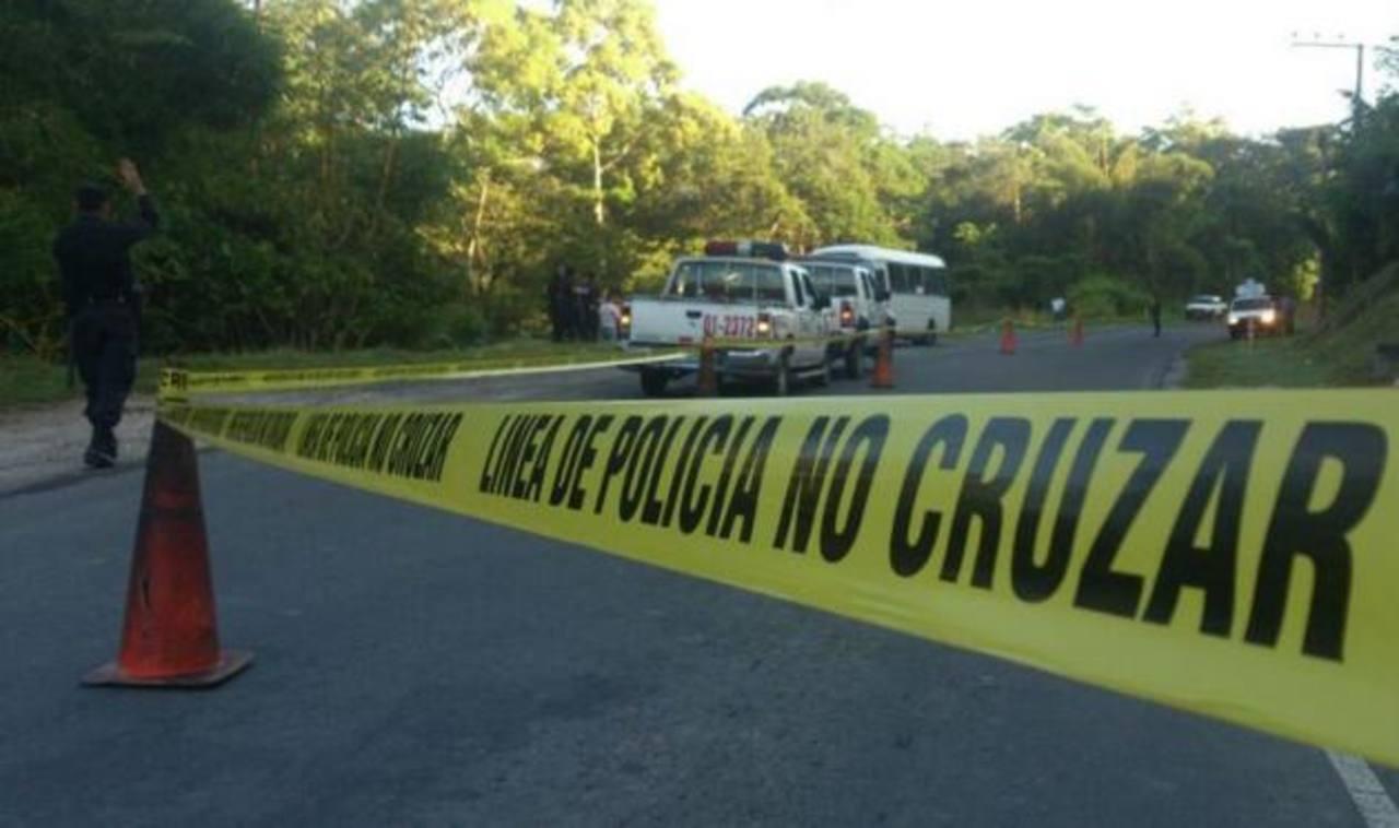 La Policía reportó el hallazgo de dos cadáveres de mujeres en San Martín. Foto vía móvil de Ericka Chávez