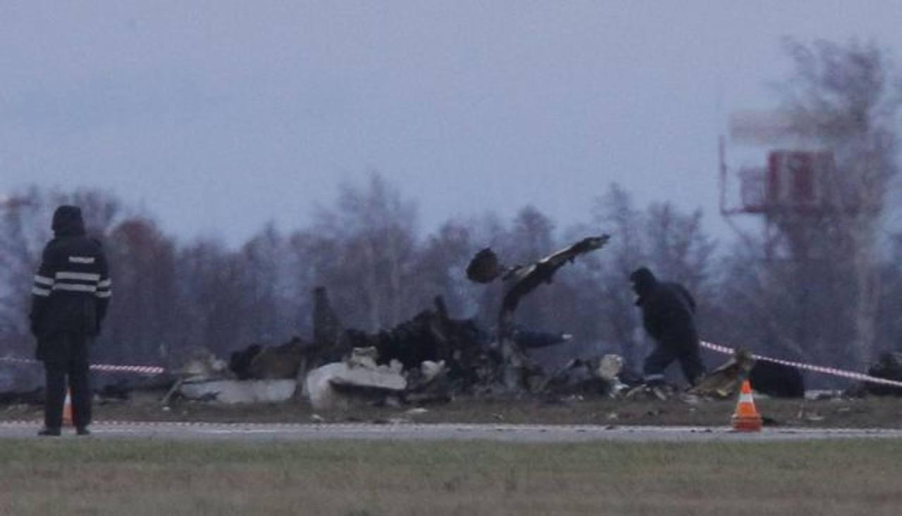 El accidente aéreo en Rusia dejó 50 muertos, según autoridades. Foto/ Reuters