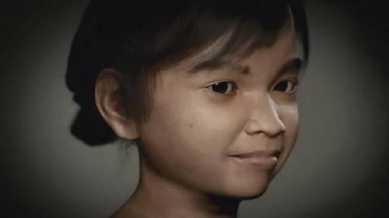 En la imagen aparece Sweetie, la niña virtual creada por la ONG para cazar a los pedófilos en la red. foto edh / internet