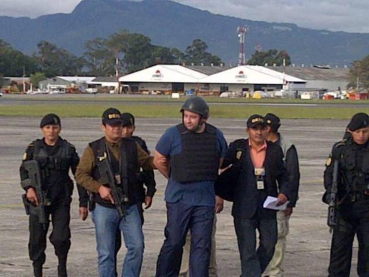 PRoberto Barreda fue extraditado a Guatemala, por ser acusado de la desaparición de su esposa Cristina Siekavizza.. FOTO de Prensa Libre