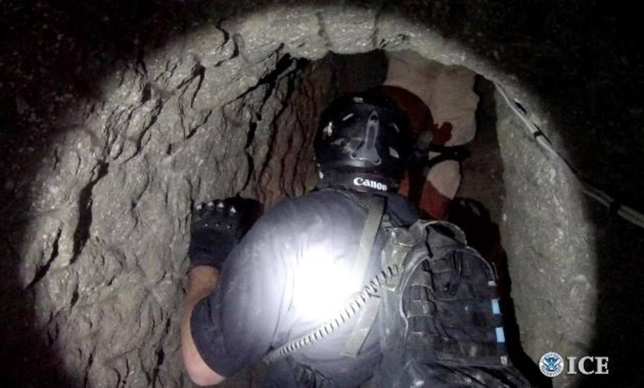Las autoridades explicaron que es uno de los túneles más sofisticados que han descubierto. foto edh / Reuters