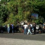 Múltiple accidente en carretera Panamericana