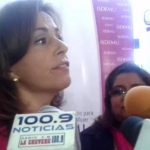 """Vanda Pignato cree que el comentario de Rosalío Tóchez sobre Ana Vilma de Escobar no debió haberse hecho. Sin embargo, dijo que """"no está tipificado"""" como delito. Foto EDH"""