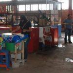 En este lugar asesinaron a Guadalupe Munguía, quien se ganaba la vida haciendo tortillas en el mercado de La Unión. Su excompañero de vida fue detenido. Foto EDH / Insy Mendoza