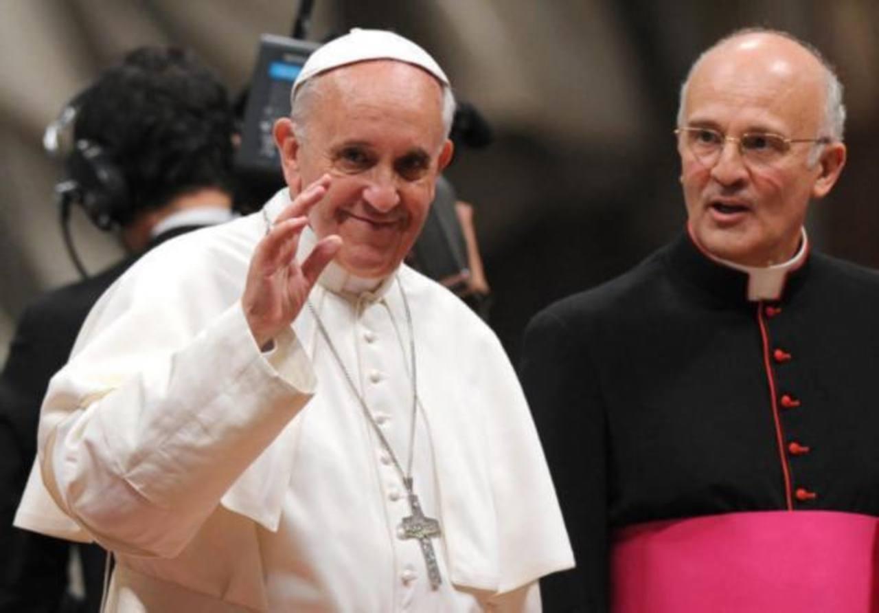 Monseñor Alfred Xuereb, de 55 años.