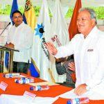 El candidato presidencial Salvador Sánchez Cerén por el FMLN ha participado con frecuencia en los eventos de Alba Petróleos.