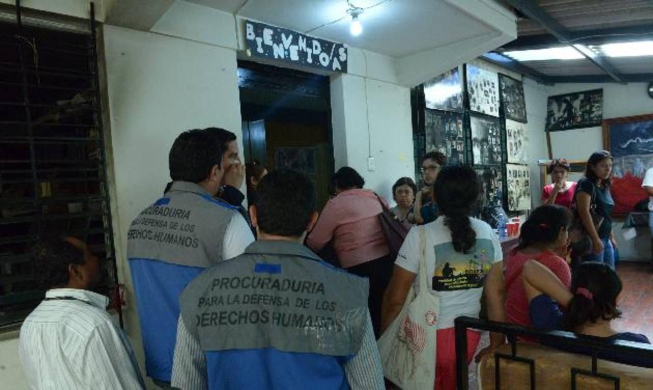 La Asociación dijo que denunciará el caso ante organismos internacionales de derechos humanos. Foto EDH / René Estrada