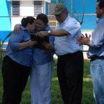 La familia Romero fue objeto de reconocimiento por su noble labor al frente de Campestre. Foto EDH/Lucinda Quintanilla