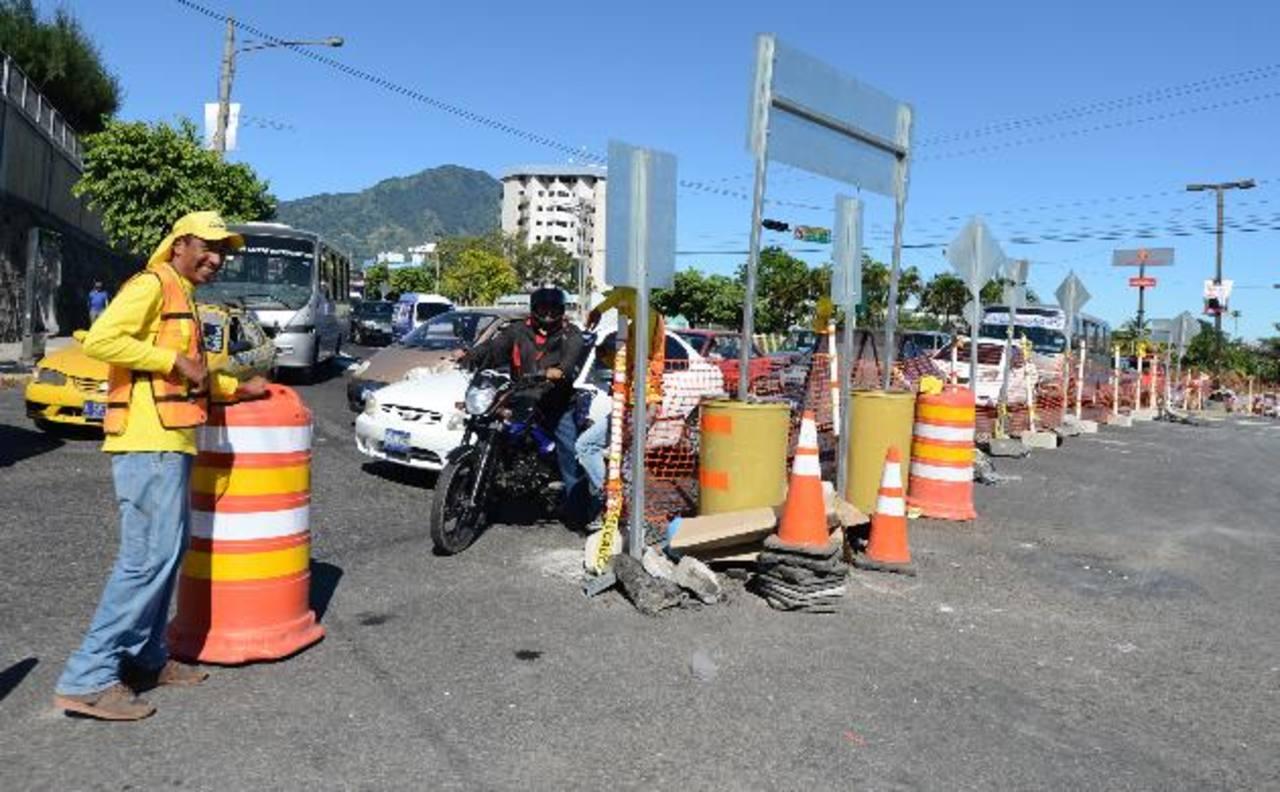 Los conductores no avalaron la medida de tráfico.