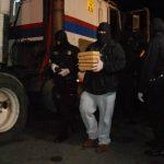 La foto corresponde al decomiso de 10 kilos de cocaína registrado a principios de este año en El Amatillo. Foto EDH / Archivo.
