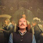 El artista mexicano visita por primera vez El Salvador. FOTOS EDH/ MARVIN RECINOS