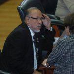 Orestes Ortez es diputado y dirigente del FMLN, además de asesor de Alba Petróleos. No quiso opinar. Foto EDH / archivo