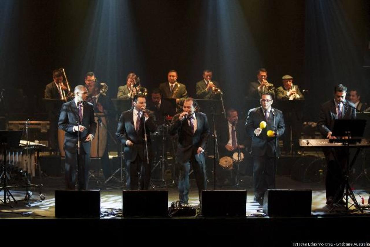 La orquesta Salsalvador All Stars estuvo de gira por Australia.