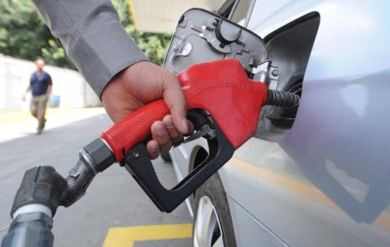 Combustibles disminuirán entre $0.05 y $0.11