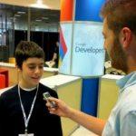 Nikos Adam, el adolescente de 12 años fichado por Google