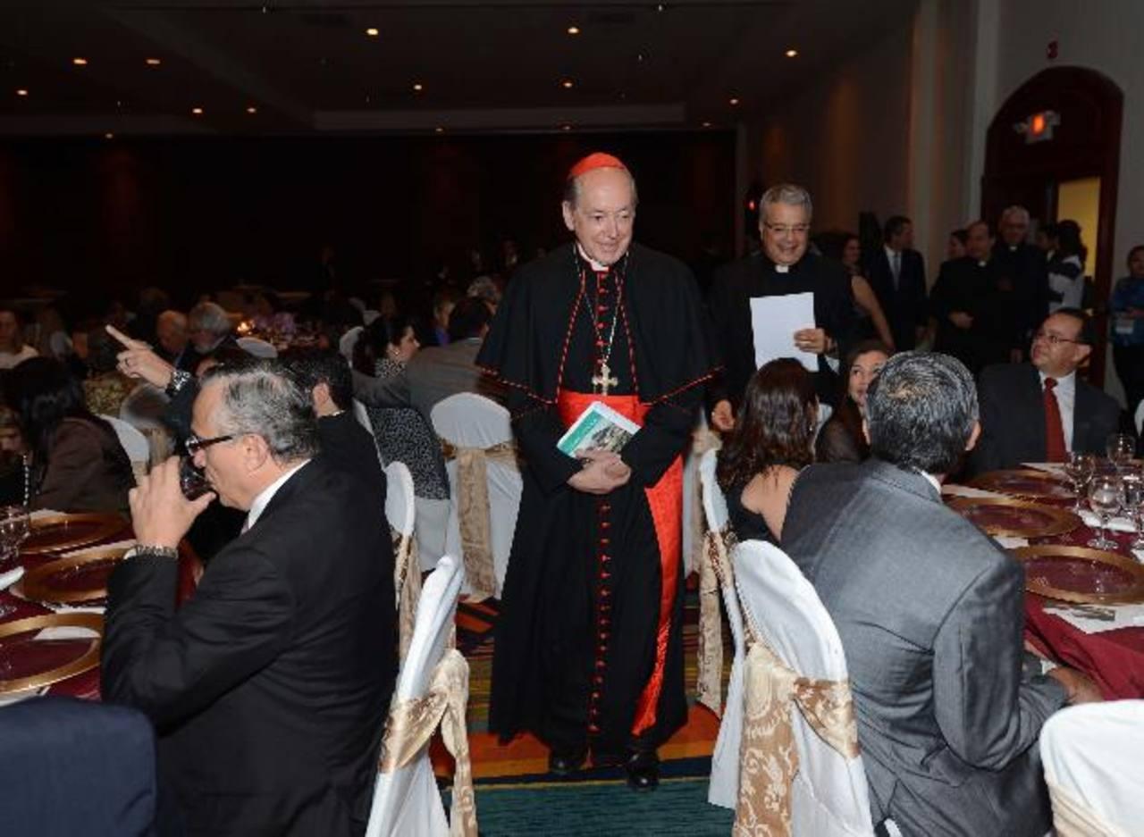 El Cardenal Cipriani motivó a los asistentes a defender a las familias y el derecho a la vida. fotos edh / douglas urquilla