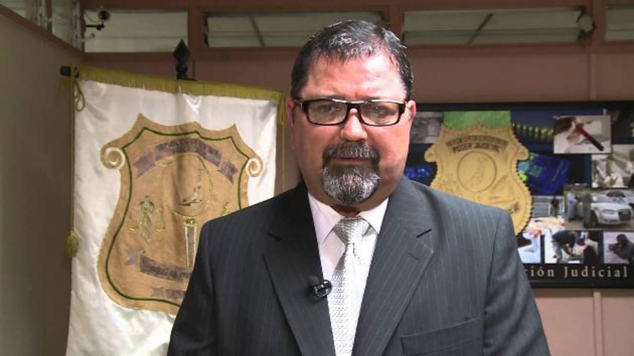 Gustavo Mata, subdirector del Organismo de Investigación Judicial (OIJ). foto edh / Internet