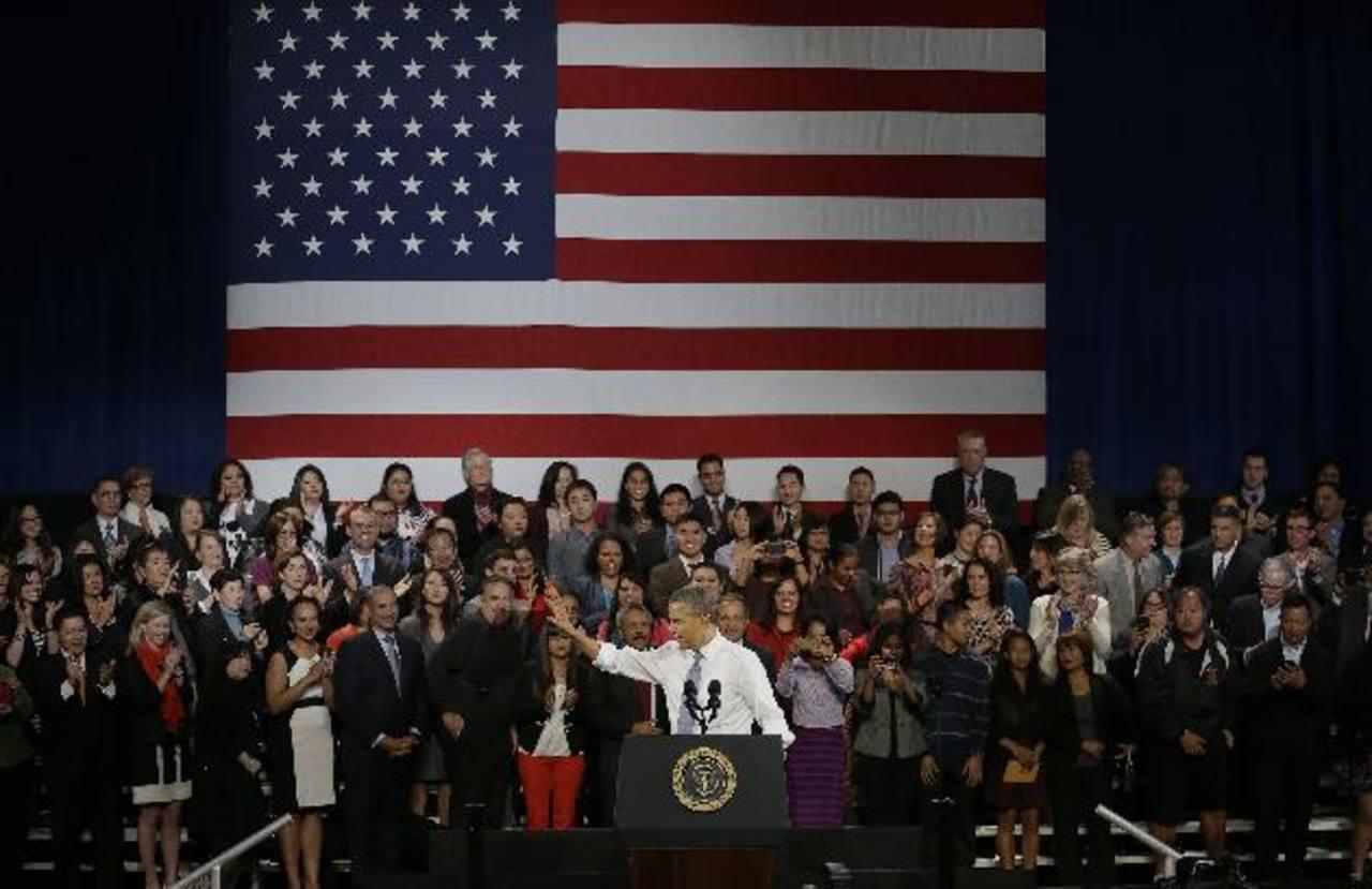El presidente Barack Obama habló sobre la reforma migratoria. Foto/ AP