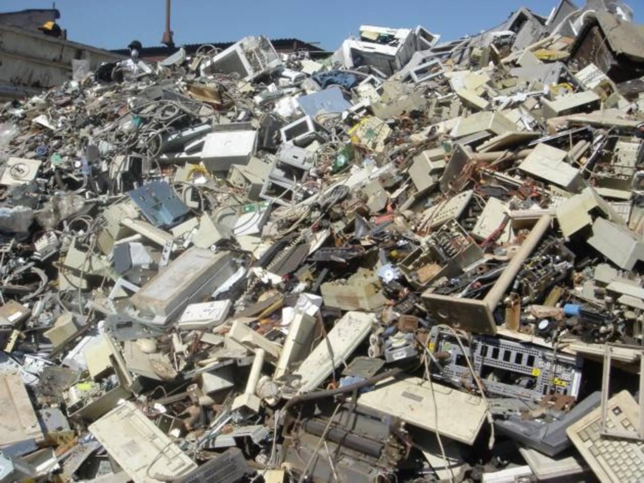 Los desperdicios electrónicos han crecido en los últimos años.