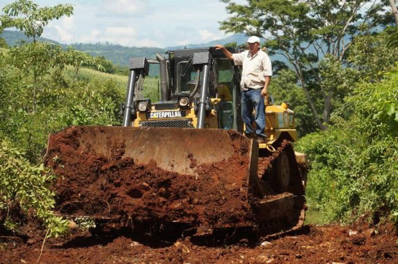 Los habitantes de La Cañada será beneficiados con la construcción de cuatro kilómetros de calle hacia barrio La Cruz.