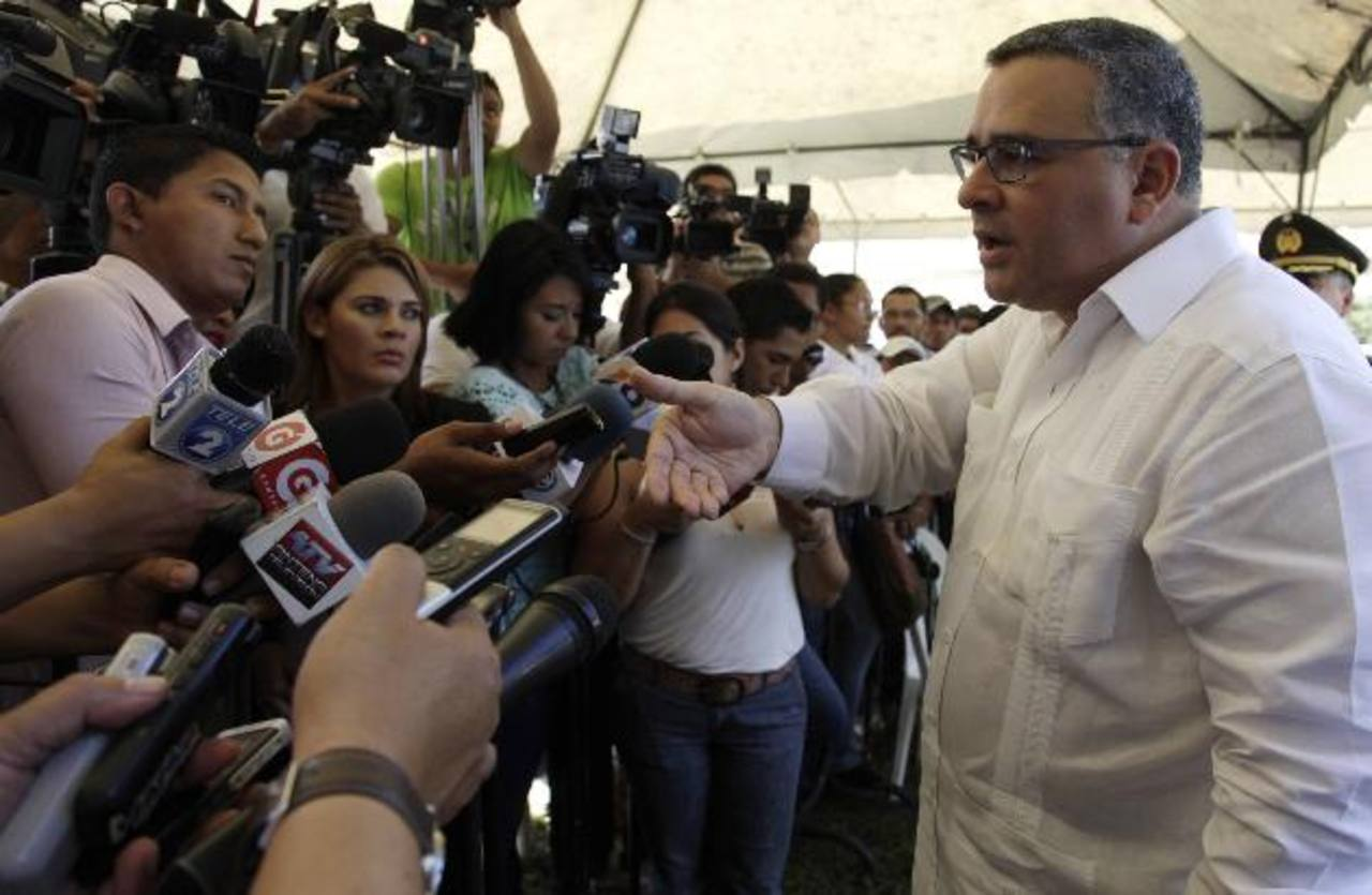 Quijano pidió al presidente de la República, Mauricio Funes, que cuide de sus expresiones en público. Foto EDH