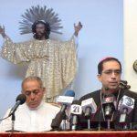 El arzobispo metropolitano, José Luis Escobar Alas, pidió a los partidos hacer una campaña respetuosa. Foto EDH / lissette lemus