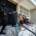 Esta fotografía corresponde a un operativo en Mejicanos el miércoles pasado, luego de un tiroteo entre policías y mareros.