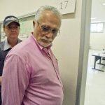 José Genoino, el exjefe del Partido de los Trabajadores (PT), se entregó ayer a la policía.
