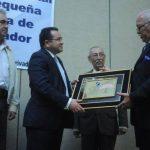 Jorge Daboub, presidente de la ANEP, recibió el homenaje otorgado por Conapes en su séptima edición. f. edh / l.monterrosa